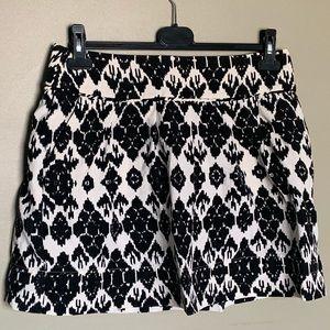 Ann Taylor LOFT linen blend skirt size 10